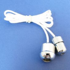 Chrome Acorn and Cord Connector Set (CC/CAC)